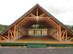Home Decor - -Skandia Truss - Room In Attic roofingdesign Attic Truss, Roof Truss Design, Roof Trusses, A Frame House, Roof Structure, Pole Barn Homes, Roof Styles, Gambrel, Attic Remodel