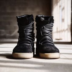 Represent Clothing presents the Dusk Boot – created with Italian velour…