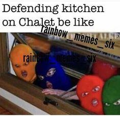 Rainbow Six Siege Memes, Rainbow 6 Seige, Logic Memes, Funny Memes, Video Game Memes, Video Games, Siege Operators, Anime Meme Face, Gaming Memes