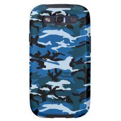 Camo pattern Samsung Galaxy S3 vibe case Samsung Galaxy S3 Covers