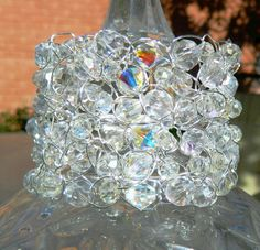 Gorgeous  Crystal Dreams Cuff Bracelet by CrystalFascination, $69.50