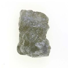 Irregular Natural Loose Rough Diamond Silver Color 1.60 Ct