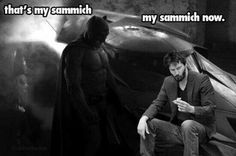 Sad Batman sammich
