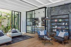 ofist designs stylish, mediterranean interior for Y house in turkey