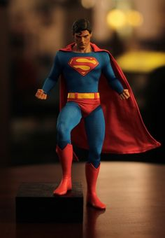 Christopher Reeves as Superman, nuff said!
