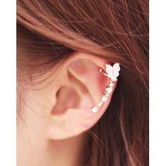 Buy 'kitsch island – Butterfly Ear Cuff' with Free International Shipping at YesStyle.com. Browse and shop for thousands of Asian fashion items from South Korea and more!