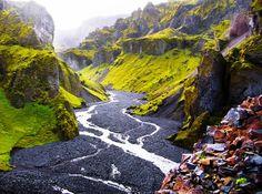 The beauty of Þórsmörk, Iceland