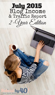 It's my 2-year anniversary, which means it's time for an anniversary blog income report where I detail how I earn money online. http://www.retiredby40blog.com/2015/08/24/2-year-milestone-july-traffic-blog-income-report/