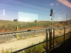 On the train from Córdoba to Granada