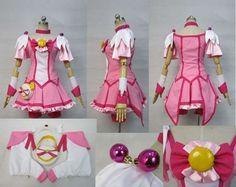 Smile Precure Miyuki Hoshizora Cure Cosplay Costume Custom Any Size   eBay