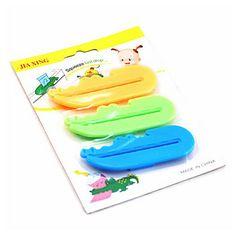 espremedor de pasta de dentes (3 peças) – BRL R$ 4,50