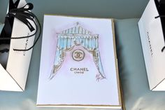 Chanel at Versailles.