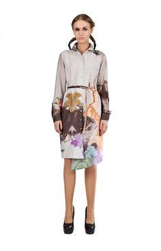Entropy dress. via The Cools
