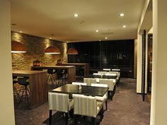 hotels and restaurants lighting projects