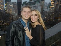 Duck Dynasty's Reed Robertson Is Engaged! Inside His Romantic New York City Proposal Reed Robertson, Miss Kays, Romantic Proposal, Duck Commander, Duck Dynasty, New York City, Celebs, Brighton Thompson, Sadie