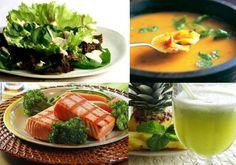 Cardápio da dieta para diminuir a barriga
