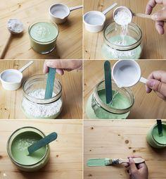 Cómo hacer pintura chalk paint casera (Receta de chalk paint DIY) | conkansei.com