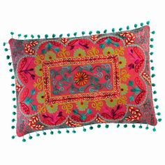 COPIACO cotton cushion, multicoloured 30 x Kitchen Sofa, Garden Workshops, Hand Embroidery Stitches, Textile Fabrics, Moroccan Style, Persian Rug, Cushion Covers, Bunt, Decorating Your Home