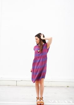 Drop Shoulder Dress