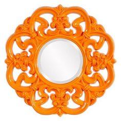 Elizabeth Austin Coco Ornate Wall Mirror - 24 diam. in. - 56090