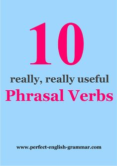 Understanding and using english grammar chartbook a reference 10 phrasal verbs by seonaid fandeluxe Gallery