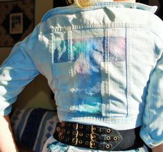 hand painted clothing art by customizedvintage on Etsy, $35.00