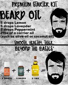 Diy beard oil makeup hacks for school - Makeup Hacks Homemade Beard Oil, Diy Beard Oil, Beard Oil And Balm, Beard Balm, Essential Oil For Men, Oils For Men, Young Living Essential Oils, Essential Oil Blends, Natural Beard Oil