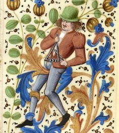 Your virtual eye on illuminated manuscripts, rare books, and the stories behind them. Medieval Music, Medieval Life, Medieval Manuscript, Illuminated Manuscript, Percussion Musical Instruments, 15th Century Clothing, Early Music, Old Art, Sculpture