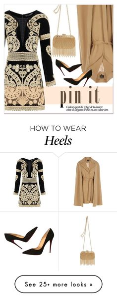 """""""Pin it"""" by janee-oss on Polyvore featuring For Love & Lemons, Coast, Inge Christopher and Christian Louboutin"""