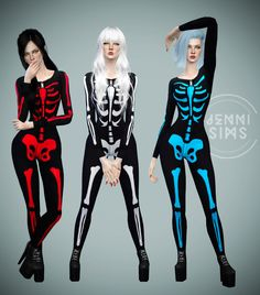 """sssvitlans: """" Downloads sims 4: Body Skeleton Base Game compatible by Jennisims Download """""""