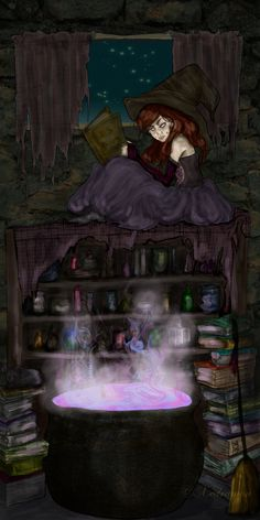 """Potions: """"Sophie,"""" by Xedramon, at deviantART. #Potions."""