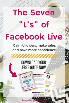 Learn the seven strategies the experts use to make more sales, gain more followers, and have confidence with Facebook Live. Includes information about a free Facebook group to network with bloggers and entrepreneurs with promotional share days. Facebook Marketing, Content Marketing, Social Media Marketing, Marketing Strategies, Gain Followers, Free Facebook, Blog Love, Direct Sales, Social Media Tips