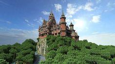 minecraft castles | Minecraft Castle Svebosin