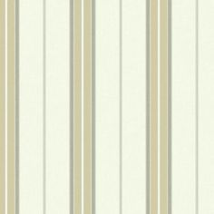 Bay Stripe 2 Wallpaper in Biege and Cream design by York Wallcoverings (2,235 PHP) ❤ liked on Polyvore featuring home, home decor, wallpaper, metallic wallpaper, sea wallpaper, pinstripe wallpaper, fabric home decor and pattern wallpaper