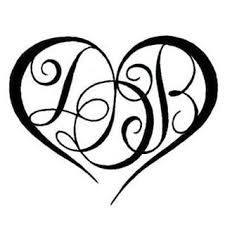 tattoo letters initials