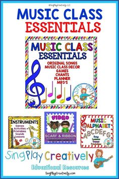 First year music teachers will love this bundle of songs, games, management and other tools that will give you a running start. https://www.teacherspayteachers.com/Product/Back-to-School-Music-Class-Curriculum-with-SongsChantsGamesMp3s-Decor-K-6-1343783