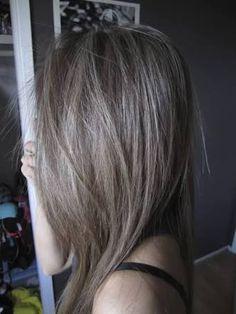 Image result for dark ash brown hair tumblr