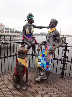 yarn bomb on the waterfront by Woolly Welsh Wo/men
