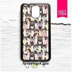 Cat Hipster Samsung Galaxy S5 Case