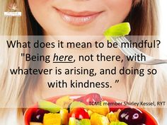 The Center for Mindful Eating - Introducing Mindful Eating
