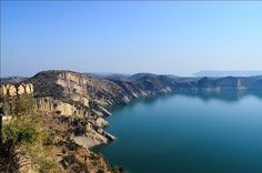 Looking towards Mangla dam Ramkot Fort