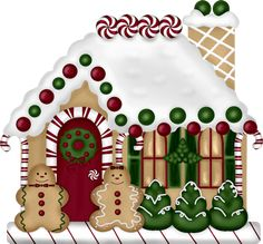 GINGERBREAD HOUSE •