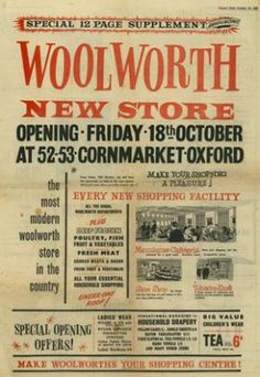 Oxford Woolworths Ad - Mail Supplement 1957