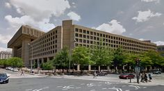submitted by tophy52  J. Edgar Hoover Building - FBI Headquarters - 1963-75 by Charles F. Murphy and Associates - #architecture #googlestreetview #googlemaps #googlestreet #usa #washington #brutalism #modernism