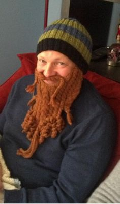 Awesome. This would be great for the cold Colorado Winters. Knitted Beard 05aa7a6acd