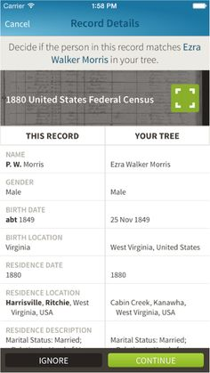 ALL NEW: Better Tools on #Ancestry iOS App for Saving Records http://ancstry.me/1Ch803a #Mobile #familytree #genealogy #familyhistory