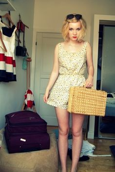 suitcase as purse is adorable