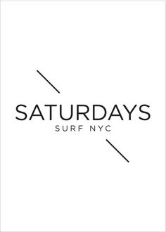saturdays logo