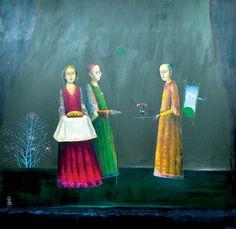 Ştefan Câlţia: Darul vanzatorului de nori :) Present Day, Surrealism, Presents, House Design, Contemporary, History, Painters, Artwork, Magic