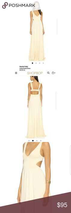 NWT Rachel Pally Shopbop long cutout maxi dress XS NWT Size XS Rachel Pally cutout maxi dress in cream. Style FA096635. Sold at shopbop for $238 (see bottom of first photo). Price negotiable; offers welcome! Rachel Pally Dresses Maxi